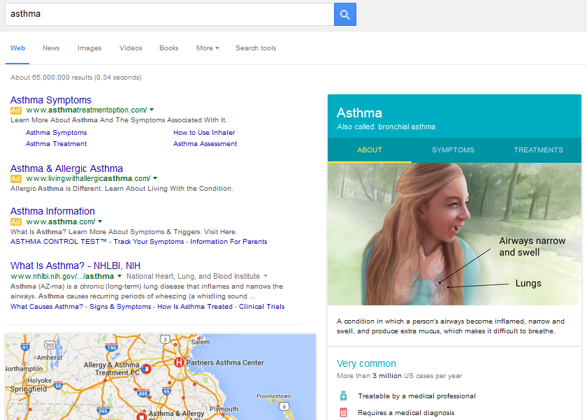 Health Conditions Knowledge Graph